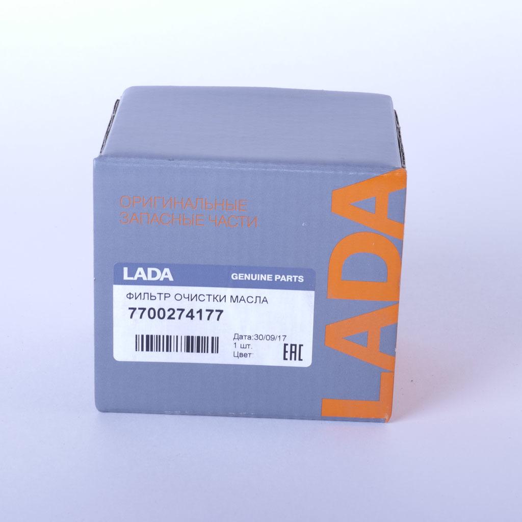 Фильтр масляный LADA Largus, Renault Laguna