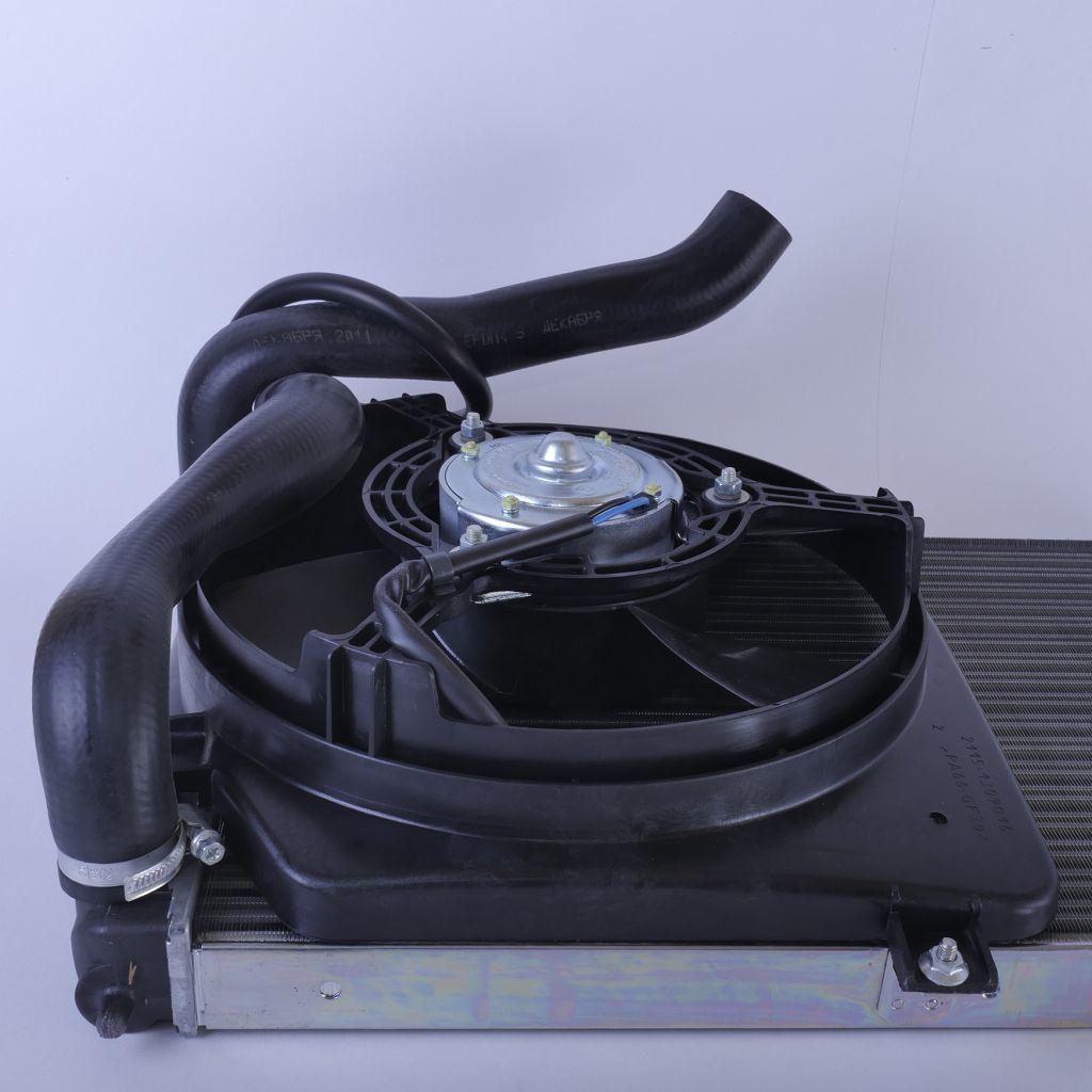 Электровентилятор охлаждения LADA Samara с кожухом