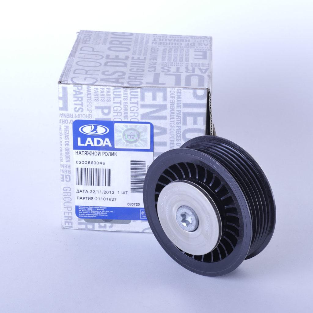 Шкив опорный ремня привода вспомогательных агрегатов LADA Largus